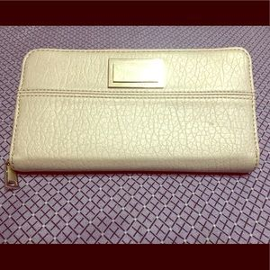 Juicy Couture's PVC Leather Zip Around Wallet